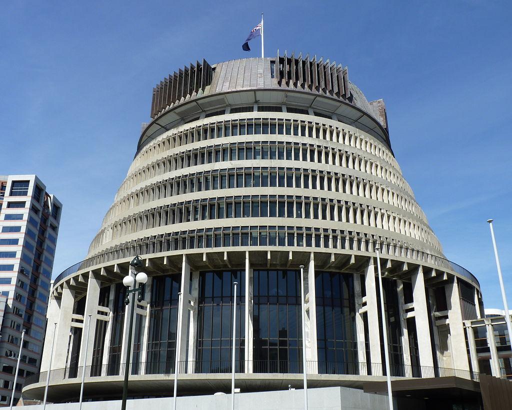 Beehive Wellington Nouvelle Zeland