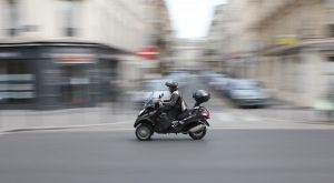 taxi scooter ou taxi moto dans Paris
