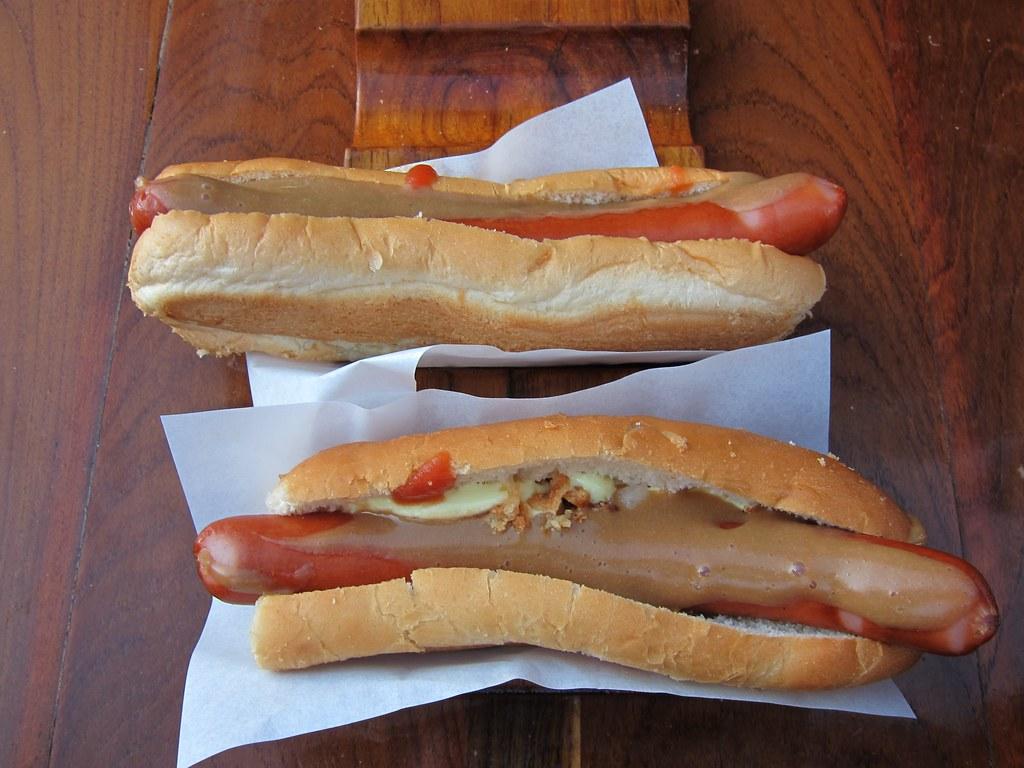 Hot dog mangé en Islande